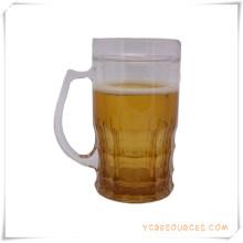 Double tasse givrée de mur tasse de bière de glace congelée pour des cadeaux promotionnels (HA09077-1)