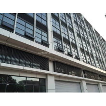 Fenêtres et portes en aluminium à double vitrage tempérées résidentielles