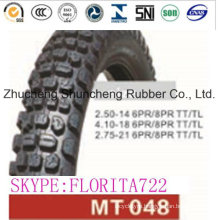 Motorcycle Parts Tire (2.50-14 4.10-18 2.75-21)