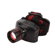 Populäre rote / schwarze Stirnlampe