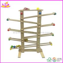 Jeux coulissants de voiture de jouet en bois (W04C007)
