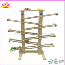 Wooden Toy Car Sliding Games (W04C007)
