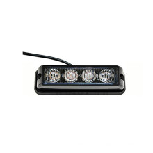 Luz estroboscópica LED 4 LED con barra de luz de luz estroboscópica de precaución de flash de emergencia super brillante