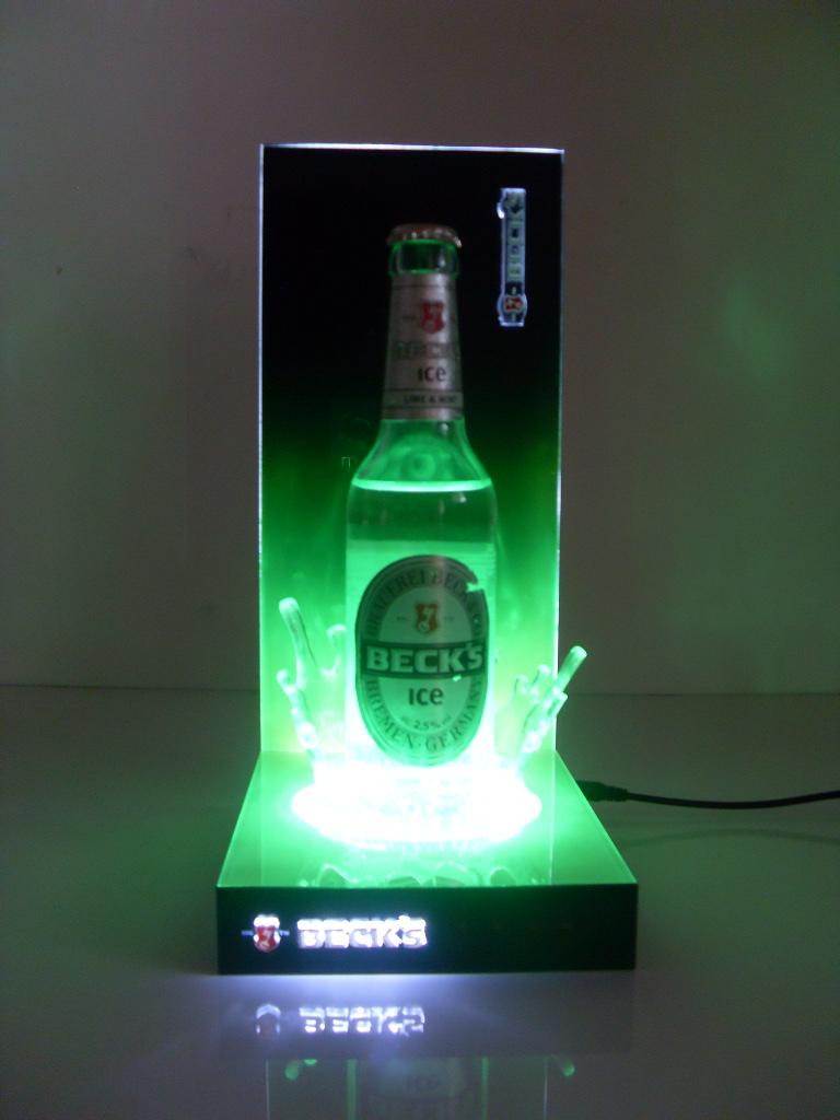 BECK'S bottle glorifier