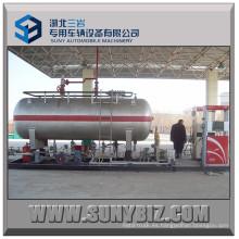 60 M3 Estación de gasolina montada en patín