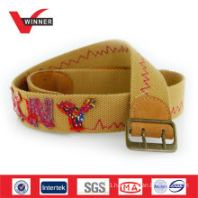 High-quality leisure canvas webbing belts
