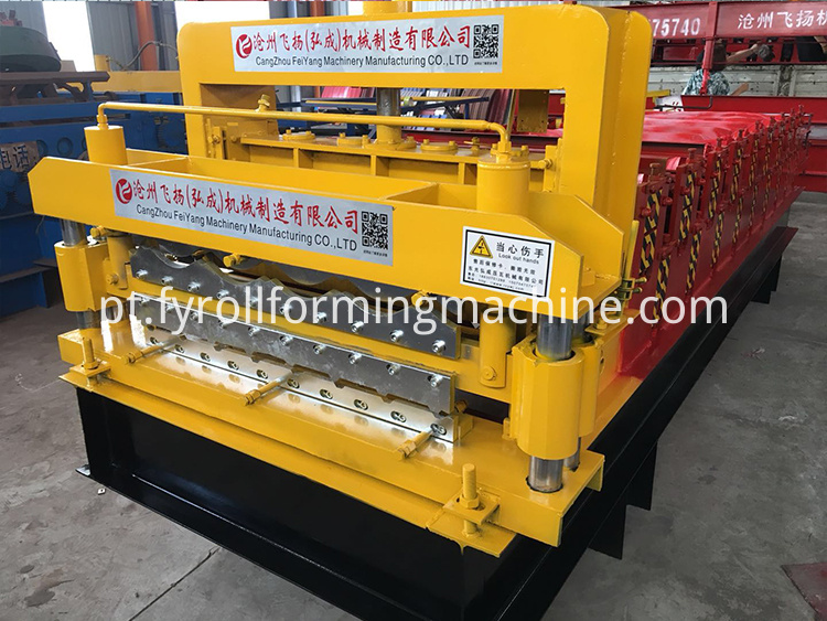 double layer roll forming machine 13