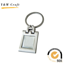 Wholesale Square Metal Key Ring Keychain Keyholder (Y02324)