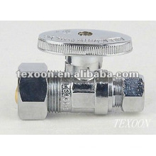 Brass Electroplating Chromium Mini Ball Angle Valve