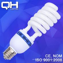 65W 17mm alta potencia media espiral energía ahorro lámpara