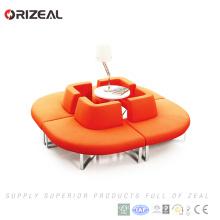 Orizeal tissu bon marché européen contemporain moderne intérieur modulaire sectionnel sofa (OZ-OSF024)