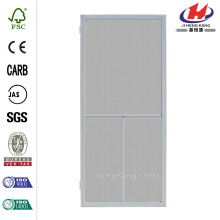 Ventura Grey Outswing Metal Hinged Screen Door
