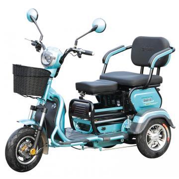 Трехколесный электрический трехколесный велосипед для взрослых
