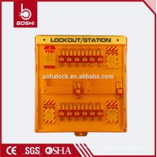 BD-B205 BRADY 12 trous de cadenas Station d'étiquetage de verrouillage de verrouillage de cadenas