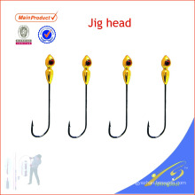 JHL001 cheap fishing tackle lure artificial bait lead jig heads