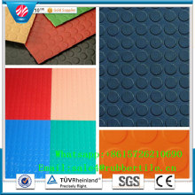 Color Industrial Rubber Sheet Fire-Resistant Rubber Flooring