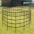 PVC coated round livestock panel