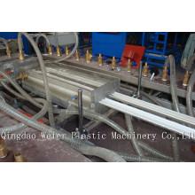 Linha da extrusão do perfil do PVC, linha de produção do painel de teto do PVC