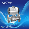Stainless Steel Ball Valve With ISO5211 Mounting Pad