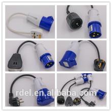 LP-018 ENCHUFE PLUG ACOPLADOR INDUSTRIAL IEC STANDARD REACH ROHS VDE