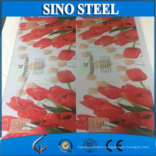 Color Painting Golden Lacquer Tinplate for Metal Packages