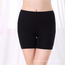 Ropa interior antiexposición Las mujeres de la cintura alta leggings seguros ropa de bambú de las mujeres de la tela del boxeador de las mujeres