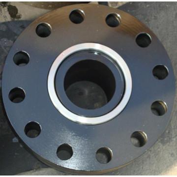 Geschweißte Stahlhalsflansche nach ANSI-Standard RTJ