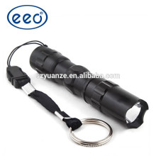 Wholesale cheap promotional aluminum led torch,hand mini torch, AAA battery powered led torch