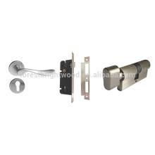 Cerradura de la puerta de la mortaja de la puerta de la habitación interior de acero inoxidable aleado / de zinc, cerradura de puerta