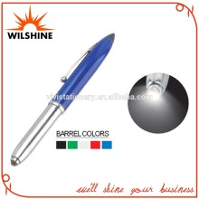 Classic Cap-Off Blue Pen Ball Pen with Multifunction