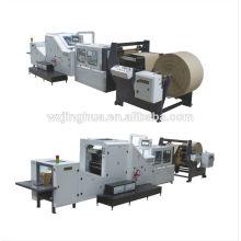 Машина для изготовления бумажных пакетов для покупок