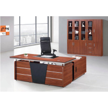 High quality latest Melamine MDF wooden fashion modern office table 02