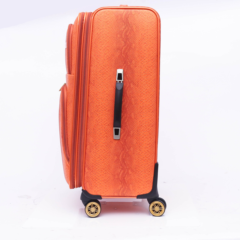 4 wheel pu luggage