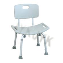 Больничная скамья для ванны со спинкой