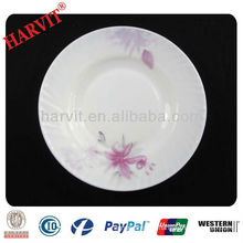 Wholesale Round Opal Glassware Dinner Plate