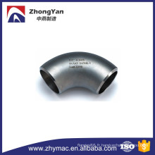 21/2 '' sch40s 316 / 316l un coude à grand rayon 90 degrés sans couture d'acier inoxydable 403