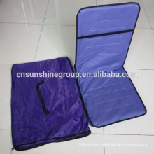 Folding beach seat with adjustable positions