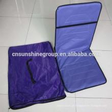 Cadeira de praia dobrável com posições ajustáveis
