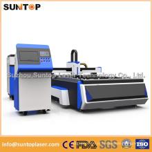 Máquina de corte do laser da fibra 500W / corte do laser para o corte da liga de alumínio