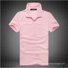 Damen-Sojabohnen-Baumwoll-Spandex-Jersey-Polo-Shirt
