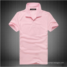 Ladies′ Soybean Cotton Spandex Jersey Polo Shirt