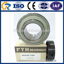 "FYH NAA209-27KR Ball Bearing Insert with Collar 1-5/16"" Bore naa 209-27 bearing"
