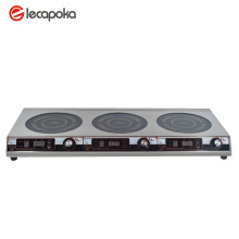Triple Burner Electric Cooktop