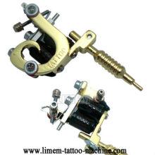 Charms argent ton mini machine à tatouer collier pendentif cadeau goldone
