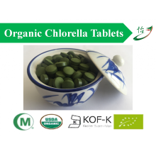 Natural Nutritional Complex Algi Pokarm Chlorella Tabletki