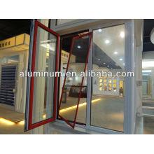 Perfil de ventana de aluminio de revestimiento en polvo