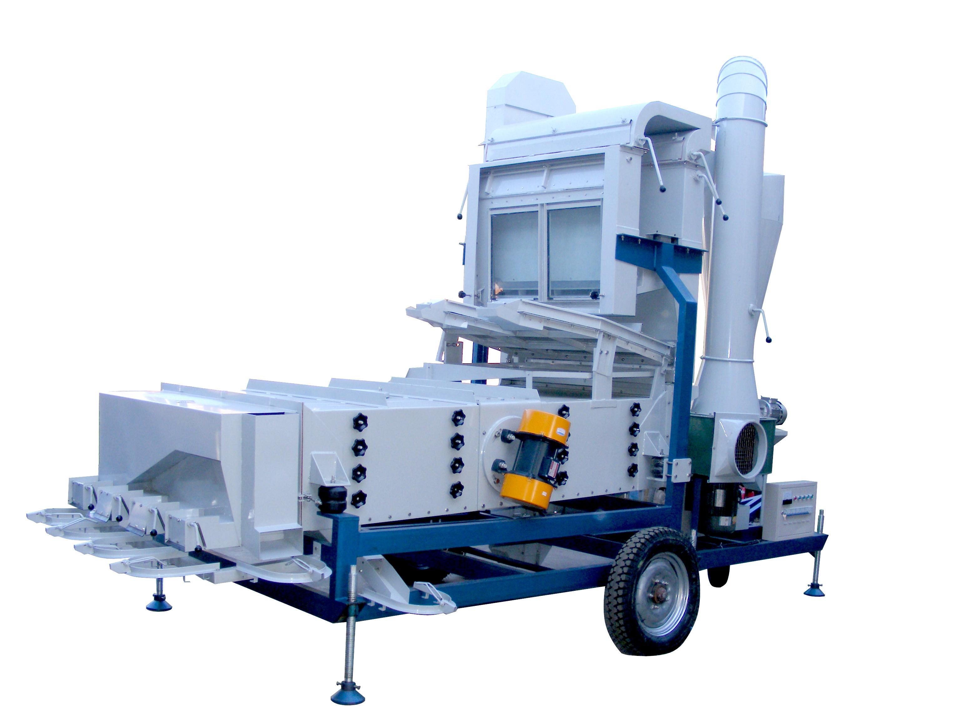 5XZC-7.5F seed cleaning machine (high configuration type)