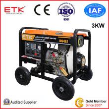 3kw Diesel Power Generators with Optional Digital Panel