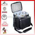 Insulated Wine Carrying Case Six Bottle Travel Cooler Picnic Camping Wine bottle bag