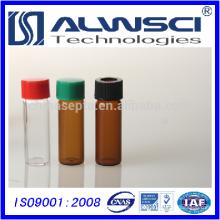 China Hochwertige Borosilikat Glas 4ml Bernstein Schraube Lagerung Vials